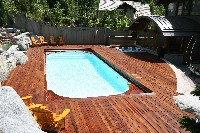 Dolphin Fiberglass Pool in Woodson, AR